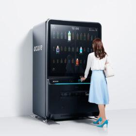 チームラボ、JR東日本エキナカに設置されるスマホ対応自動販売機とスマートフォンアプリ「acure pass」を開発の画像