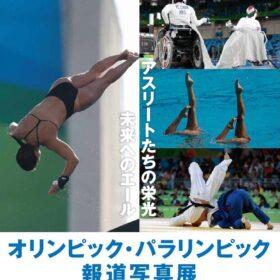 オリンピック・パラリンピック報道写真展~アスリートたちの栄光 未来へのエール~ 6月28日より開催の画像