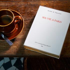 活版印刷で作られた美しいパリのガイドブック『MA VIE A PARIS』の日本語版がついに一般発売開始の画像