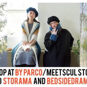 デザイナー谷田浩が手がける「STOF」「STORAMA」「bedsidedrama」によるPOPUP SHOP開催!の画像