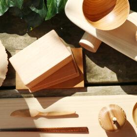 【代官山 蔦屋書店】吉野杉などを使用した、奈良の木のあるくらしフェア 限定アイテムの販売と関連イベント開催!の画像