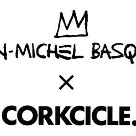 ジャン=ミシェル バスキア のアートとコラボレーション!アメリカ発ドリンクウェアブランド「CORKCICLE」 がCanteenコレクションを発売の画像