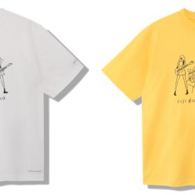 イラストレーター長場雄さんがイラストを担当 FUJI ROCK FESTIVAL'19 × Columbia『コラボTシャツ』発売!の画像