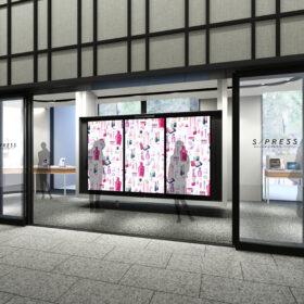 資生堂の最新デジタルコンテンツを体感できるショールーム「S/PRESS(エスプレス)」を浜松町にオープンの画像