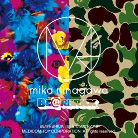 BE@RBRICK BAPE® × M / mika ninagawaの画像