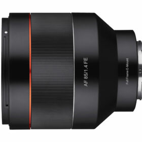 軽量・コンパクトな中望遠レンズ SAMYANG社新製品「AF 85mm F1.4 FE」発売の画像