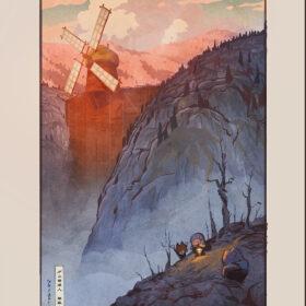 アカデミー賞ノミネート!名作アニメーションが浮世絵に出会った─トンコハウス映画祭開催記念・浮世絵木版画『ダム・キーパー』発売の画像
