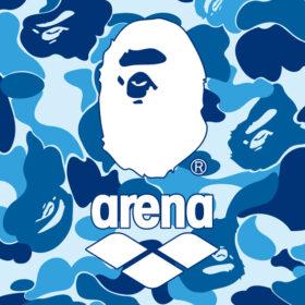 A BATHING APE® x arenaの画像