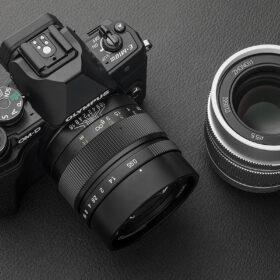 中一光学 SPEEDMASTER 35mm F0.95 II マイクロフォーサーズ用 発売の画像