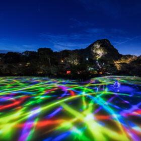 チームラボ、九州の大自然のアート展「かみさまがすまう森」を、今年も武雄温泉の御船山楽園で開催。CNN「行くべき世界の屋外アート展 2021」にも選出。の画像