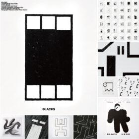 「黒」を主役にしたグラフィック展示「BLACKS」 グラフィックデザイナー宇都勝宏 初の個展を開催の画像