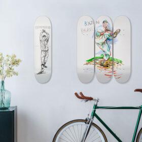 MoMA Design Store レイモンド・ペティボンのアートがモチーフの限定スケートボードが登場の画像
