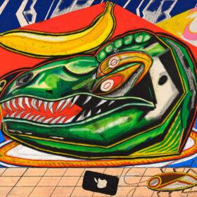 【NADiff a/p/a/r/t】Shohei Takasaki新作作品集の発売を記念した個展「Dinosaur head, Lightning, Grid」を7月2日(金)より開催。の画像