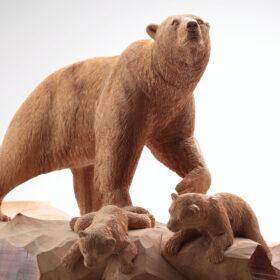 「木彫り熊の申し子 藤戸竹喜 アイヌであればこそ」2021年7月17日(土)より開催の画像
