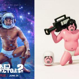 "AllRightsReserved と Netflix オリジナルシリーズ「全裸監督」による FACE Oka X ""全裸監督""シリーズを発表の画像"